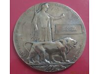 Wanted WW1 named Commemorative Tokens.