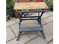 Black and Decker Deluxe Workmate Dual height work bench