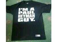 Authentic WWE I'm A Paul Heyman Guy Medium Shirt