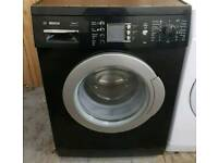 £150 Black Bosch 7KG Washing Machine - 6 Months Warranty