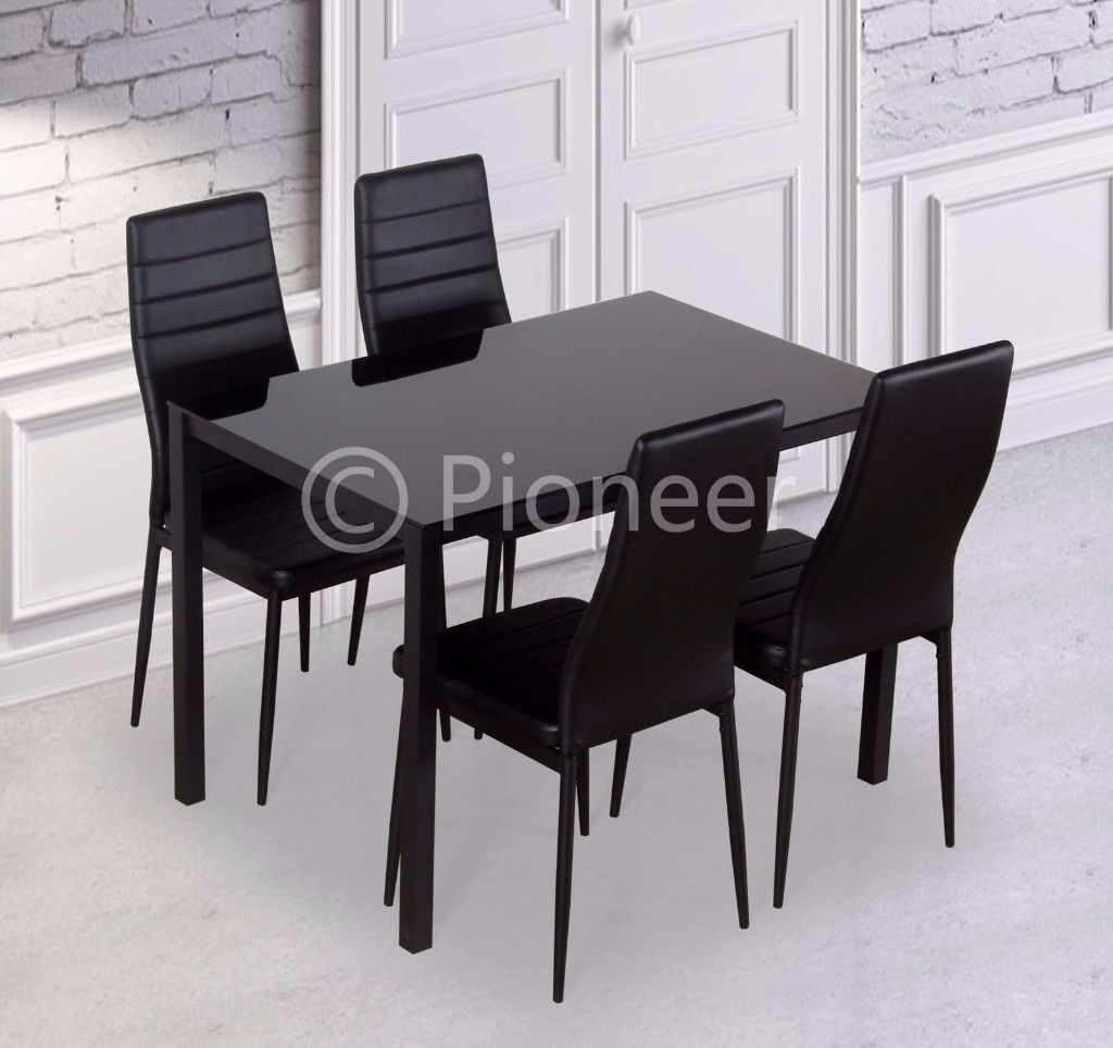 QUICK DELIVERYNEW Black Ultra High Gloss Dining Table