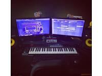 Music producers pc and equipment.... 800 Ono