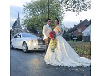 Wedding Car Hire-Rolls Royce Phantom-£300-Wedding chauffeuring-Luxury Service-Prom-car hire