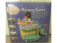 New little one nursery centre dolls multisided station ELC