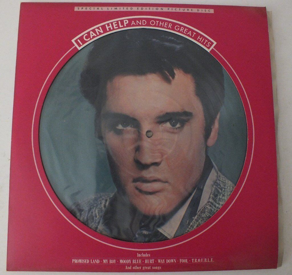 ELVIS PRESLEY ALBUM - LIMITED EDITION PICTURE DISC