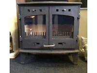 Carron double door woodburner/ multifuel stove