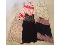 Girls 4-5 years old various dresses x 6