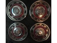 Rolls Royce wheel trims ***VINTAGE COLLECTORS***