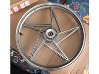 Suzuki Front Wheel 18M/CXMT1.60 (EN125?) New Other