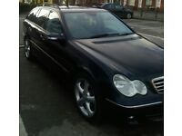 55 Merc C220cdi estate advantguard auto full history mot n tax Very good condition may consider px
