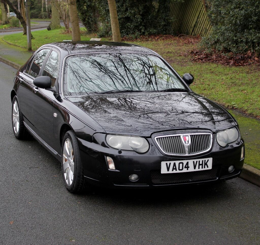 2004 Rover 75 Contemporary 2 0 Diesel  Automatic  Black