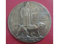 Wanted World War One Commemorative Tokens with Soldiers Name.