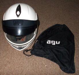 AGV LONGWAY Motorcycle Helmet (Used)