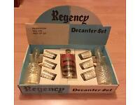 Regency decanter Set