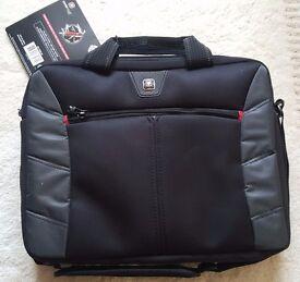 Wenger SwissGear Sherpa 13.3 Inch Double Laptop Slim Durable Carry