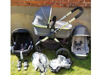 iCandy peach 3 Truffle Travel System with Car Seat