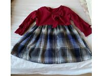 Baby girl cute clothes (worn but looks new and fashionable)