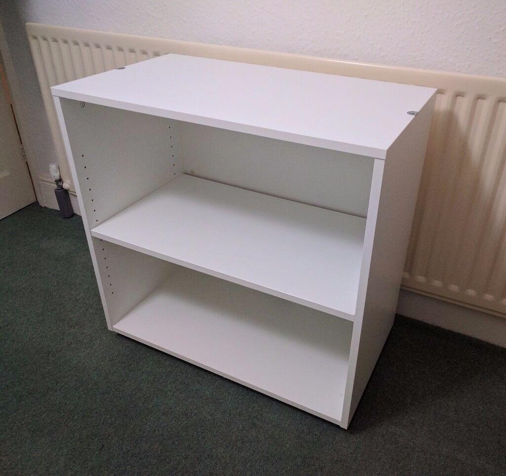 IKEA GALANT White Shelf Unit / Printer Table / Sideboard