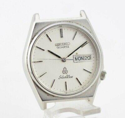 K836 Vintage Seiko Silver Wave Quartz Watch Original 8229-7040 JDM Japan 1.2