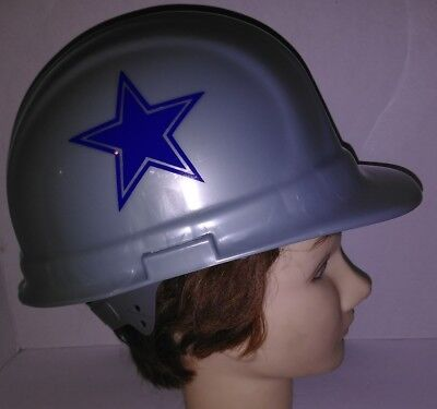 Homemade Dallas Cowboys Theme Gray Hard Hat Prescott Witten Tailgate Party Game  - Dallas Cowboys Theme Party