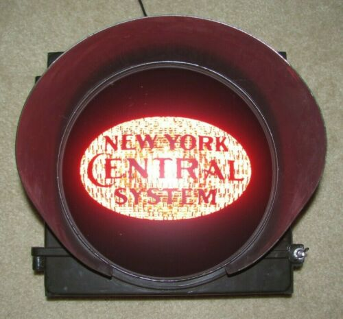 "12"" New York Central Railroad Novelty Traffic Signal Light"