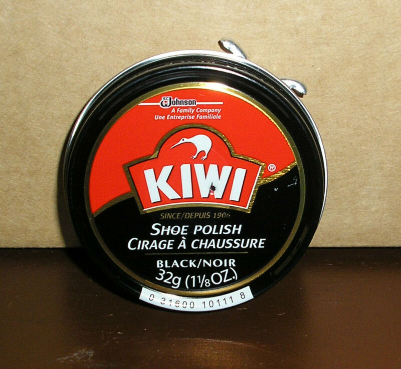 Z27 ONE CAN KIWI 1 1/8 OUNCE BLACK SHOE POLISH PASTE