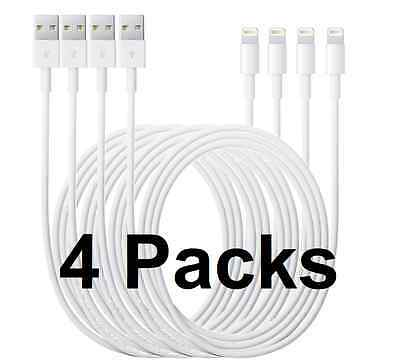 4 X USB Lightning Cable Data Sync Charger Cord for APPLE iPad Air Mini Pro