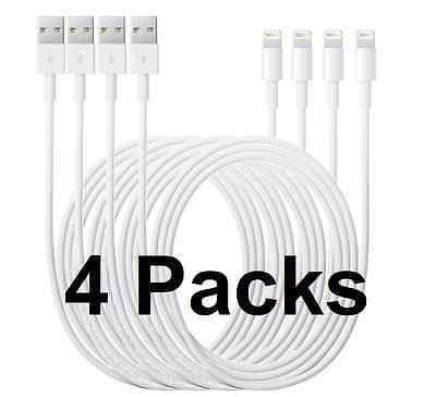 Lot of 4 Sync & Charger USB Cable for APPLE IPad Mini 2 3  and iPad Air