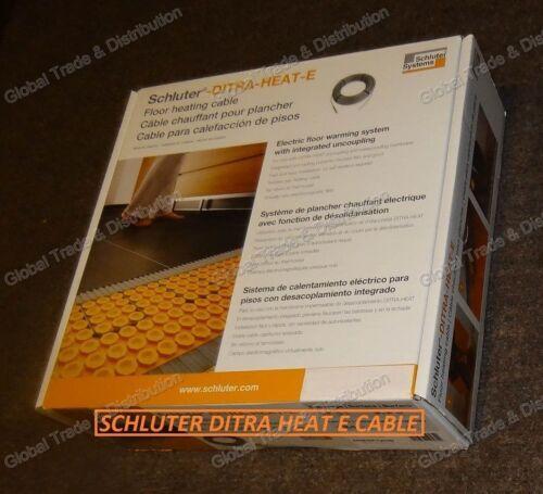 Schluter Systems DITRA HEAT E Floor Heating DHEHK Cable All Models 120V & 240V