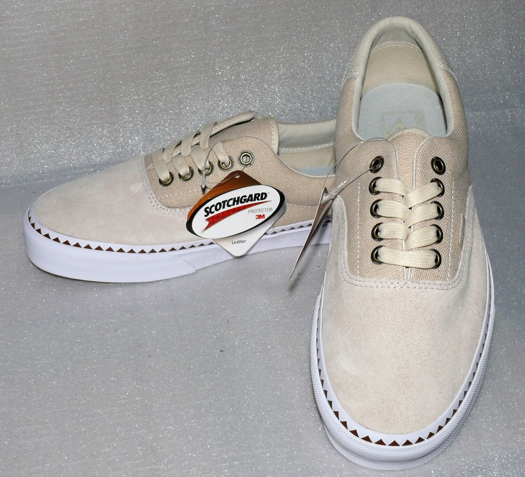 c2f05371c33780 Vans ERA 59 Native DX Sneakers Canvas Skate low cut Herren Schuhe EU42 US9  Natur