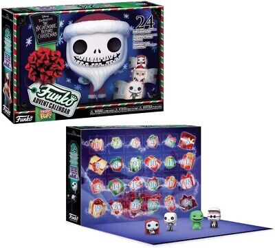 Funko The Nightmare Before Christmas 24 Pc Advent Calendar Vinyl Figure Sealed