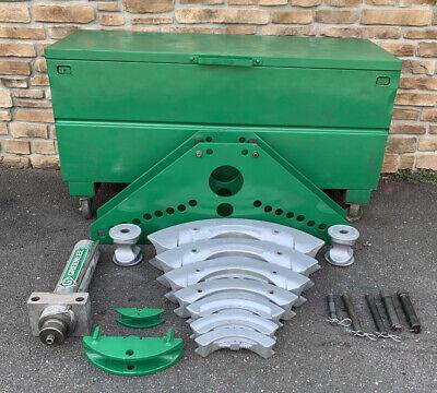 Greenlee 884 Hydraulic 1-14-4 Rigid Pipe Bender Fully Serviced 2
