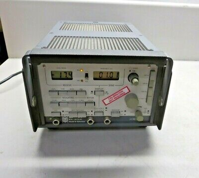 Wandel Goltermann W G Vf 1 Transmission Test Set50 Hz-20 Khz Powers Up