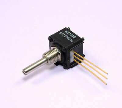1pc Spectrol Cerment Linear Taper Potentiometer 10k 1w 14 Threaded Bushing
