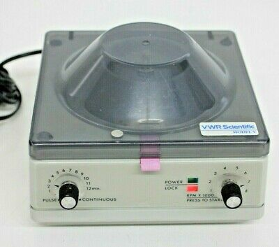 Vwr Scientific Microcentrifuge Model V 6 Positions 1000-8000 Rpm