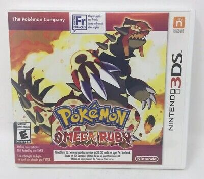 Pokemon Omega Ruby (Nintendo 3DS, 2014) Free Shipping!
