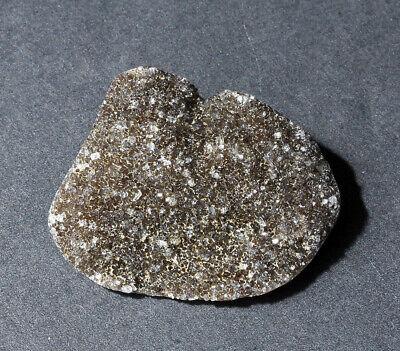 Herkimer Diamond Mine Matrix Druzy Specimen Quartz Crystal Cluster B5 Cabbed