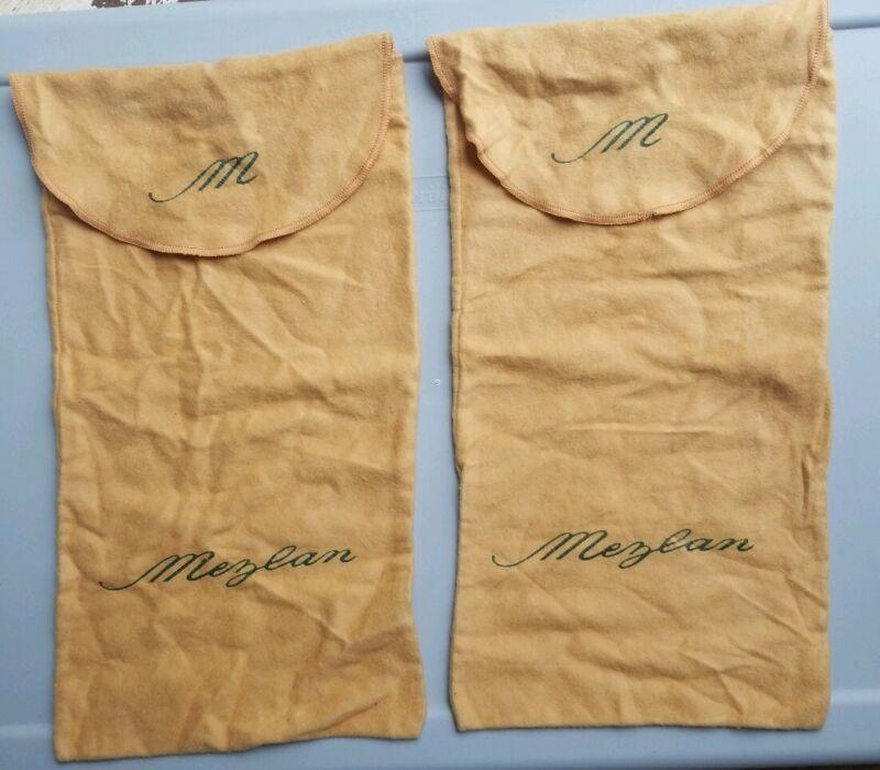 Vintage authentic Mezlan dust Shoe bags Cotton