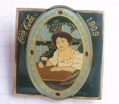 1909 / COCA-COLA / 100-JÄHRIGEN SATZ ..... Spange/kein Pin (Ka4)
