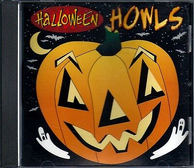 Halloween Howls by Various Artists (CD, Mar-2009, Infinity Entertainment - Halloween Howls