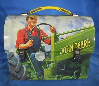 John Deere Retro Lunchbox Mini Tin Box (NICE!)