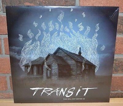 Transit   This Will Not Define Us  Ltd 300 Blue Vinyl   Lyric Insert New