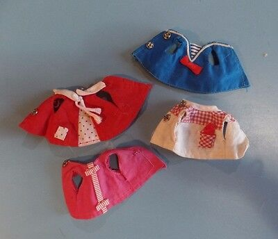 Vintage Barbie Tutti Doll Clothes - Mixed Lot of Tutti Size Tops