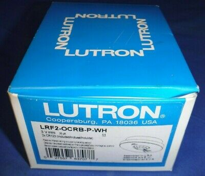 Lutron Lrf2-ocrb-p-wh Radio Powr Savr Wireless Ceiling-mounted Occupancyvacancy
