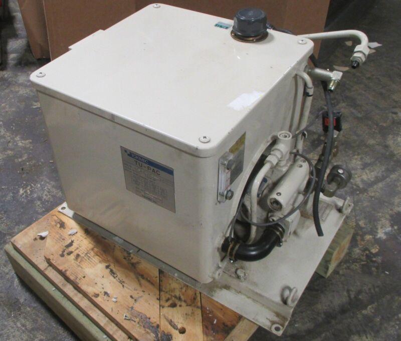 Tokimec TU-PAC TU2A-N-7001 Hydraulic Power Pack Unit 1.5 KW 4P Used
