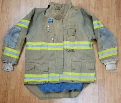 Morning Pride Ranger Firefighter Bunker Turnout Jacket w/ DRD 54 x 35