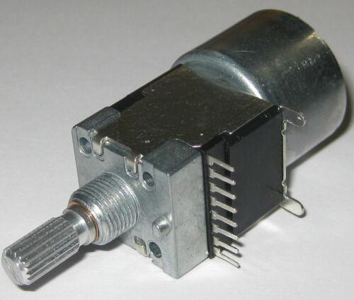 Dual Motorized 100 kOhm Linear Potentiometer - Dual Section Motor Pot 100k - 5V