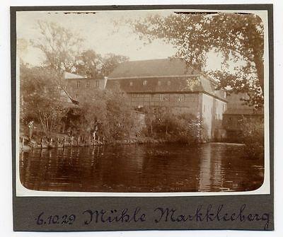 Foto Leipzig 1929 betitelt als Mühle Markkleeberg - Dölitzer Mühle Dölitz ???