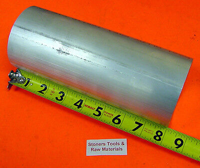 3-14 Aluminum Round Rod 8 Long 6061 T6511 Solid New Lathe Bar Stock 3.25 Od