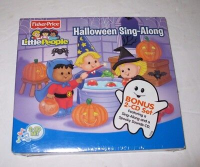 Kids Halloween Sing Along (Fisher-Price LITTLE PEOPLE HALLOWEEN KIDS SING-ALONG with BONUS SPOOKY SOUNDS)